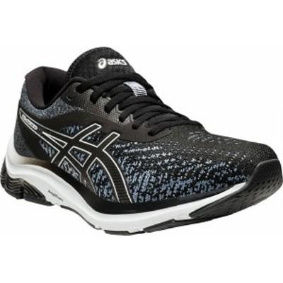アシックス メンズ スニーカー シューズ Men's ASICS GEL-Pulse 12 Running Sneaker Black/White
