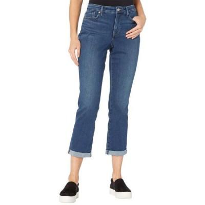 ユニセックス パンツ Sheri Slim Ankle Jeans with Roll Cuff in Reverence