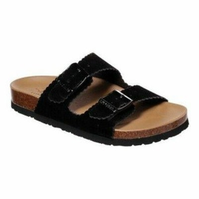 SKECHERS スケッチャーズ ファッション サンダル Skechers Womens  Relaxed Fit Granola Get Cushy Slide Sandal Black Size 6 M