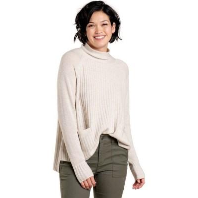 ドード アンドコー ニット&セーター レディース アウター Clementine Mockneck Sweater - Women's Oatmeal