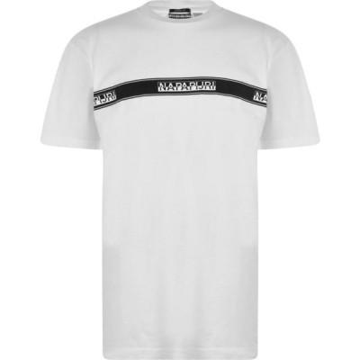 ナパピリ Napapijri メンズ Tシャツ トップス Sagar T Shirt White