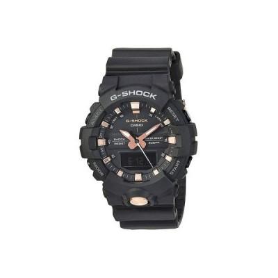 腕時計 カシオ G-Shock By Casio Men's Analog Digital GA810B-1A4 Watch Rose Gold Black Wristwatc