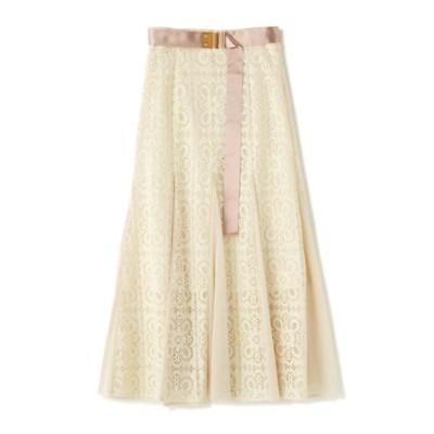 《EXCLUSIVE LINE》クルーニーレースマーメイドスカート