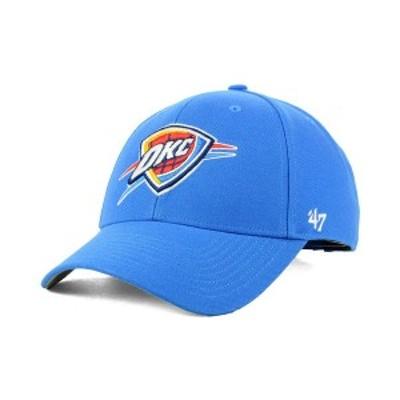 47ブランド メンズ 帽子 アクセサリー Oklahoma City Thunder Team Color MVP Cap LightBlue