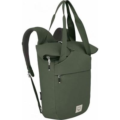 オスプレー Osprey Packs レディース バックパック・リュック バッグ Arcane Tote Pack Haybale Green