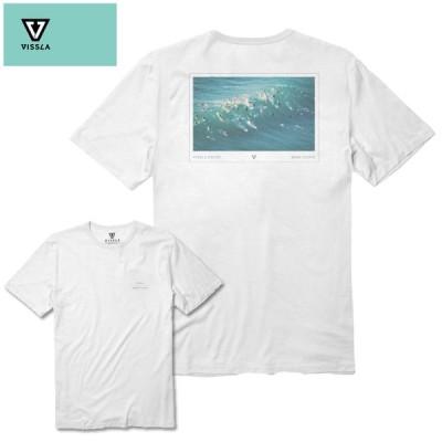 "VISSLA ヴィスラ ""Free For All Tee"" M422OFFA20SP Tシャツ 半袖Tシャツ メンズ トップス"