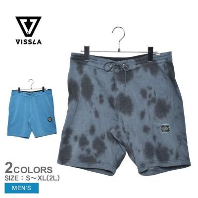 ヴィスラ ショートパンツ メンズ VISSLA SOLID SETS 18.5 SOFA SURFAR ハーフ ブランド サーフィン ロゴ タイダイ柄 リラックス 人気 お出かけ おしゃれ