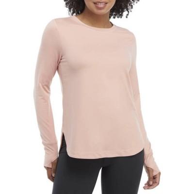 ザ・リミティッド レディース Tシャツ トップス LIMITLESS Long Sleeve Shirttail Hem Top