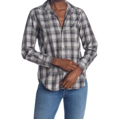 フランク & アイリーン レディース シャツ トップス Frank Plaid Tailored Fit Tunic Shirt HETAHER GR
