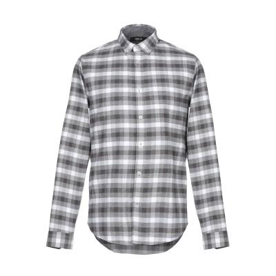 !SOLID シャツ グレー XL ポリエステル 65% / コットン 35% シャツ