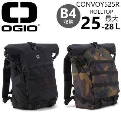OGIO CONVOY 525R ROLLTOP BACKPACKオジオ コンボイ525R ロールトップ 男女兼用バックパック PC収納付きリュック 全2色