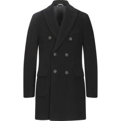 イーヴォ HEVO メンズ コート アウター coat Black
