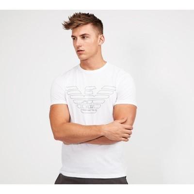 アルマーニ Emporio Armani メンズ Tシャツ トップス lounge largo logo t-shirt