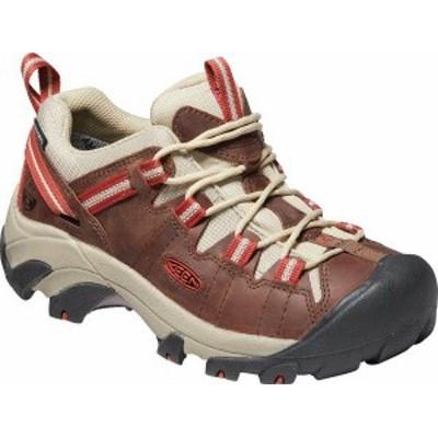 キーン レディース スニーカー シューズ Targhee Waterproof LTD Hiking Shoe Bison/Bossa Nova