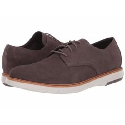 Clarks クラークス メンズ 男性用 シューズ 靴 オックスフォード 紳士靴 通勤靴 Draper Lace Taupe Suede【送料無料】