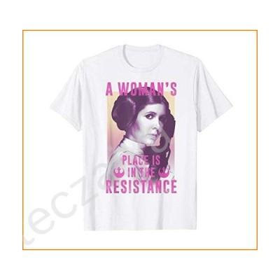 Star Wars Princess Leia Resistance T-Shirt【並行輸入品】