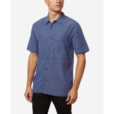 オニール メンズ シャツ トップス Men's Shadowvale Button-Up Shirt Pacific