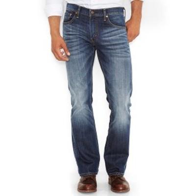 リーバイス メンズ デニムパンツ ボトムス Men's 527 Slim Bootcut Fit Jeans Wave Allusions Stretch - Waterless
