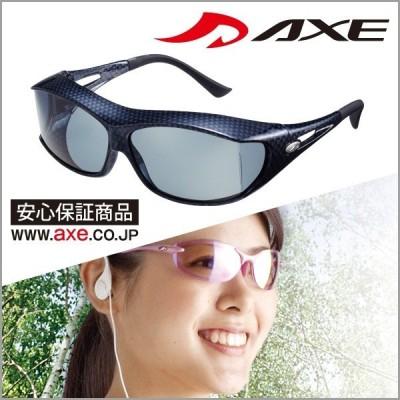 AXE アックス スポーツサングラス SG-605PCS 偏光 ゴルフ 釣り ジョギング マラソン 正規品 No.01(60su-034)