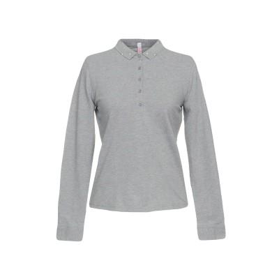 サンシックスティエイト SUN 68 ポロシャツ ライトグレー M コットン 95% / ポリウレタン 5% ポロシャツ
