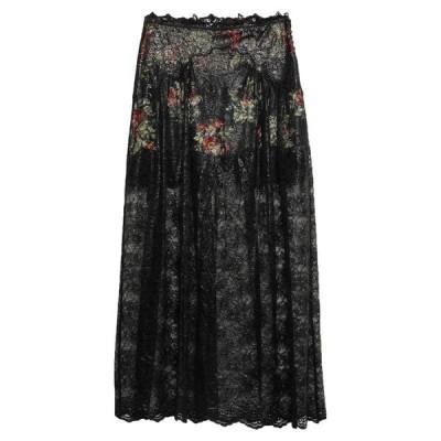PACO RABANNE ロングスカート  レディースファッション  ボトムス  スカート  ロング、マキシ丈スカート ブラック