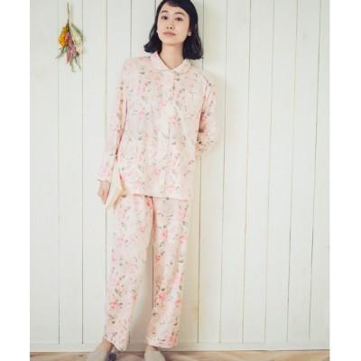 ルームウェア パジャマ やわらかな肌ざわり 綿100%素材のパジャマ