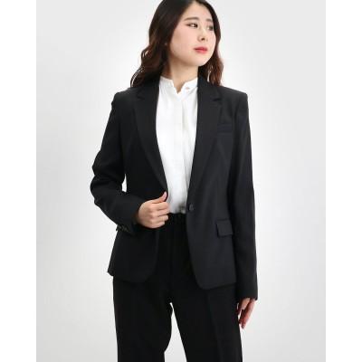 リネーム Rename シングルボタンウールベーシックジャケット (ブラック)