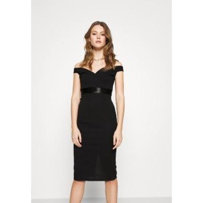 ヴァル ジー レディース ワンピース トップス RYLIE BAND MIDI DRESS - Cocktail dress / Party dress - black black