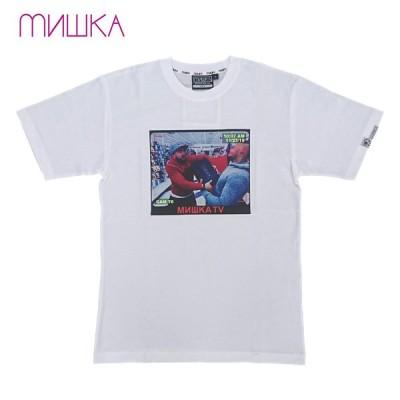 MISHKA 半袖Tシャツ RIOT HOLIC TEE White M19 正規品