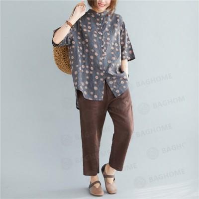 【母の日特集】Tシャツ レディース 無地Tシャツ 半袖 カジュアル おしゃれ きれいめ 大きいサイズ 体型カバー トップス夏 ゆったり クルーネック 女性 薄手