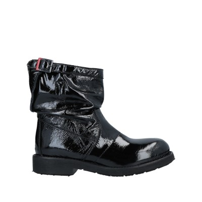 PATRIZIA BONFANTI ショートブーツ ブラック 40 革 ショートブーツ