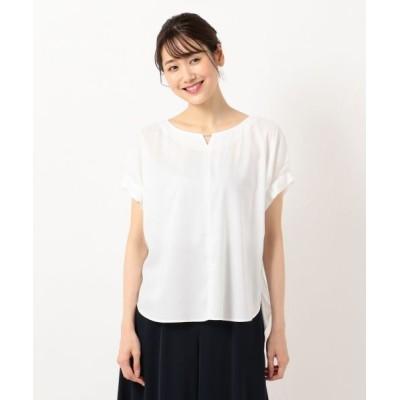 any SiS/エニィスィス 【洗える】バーポイントシャツ ブラウス オフホワイト 2
