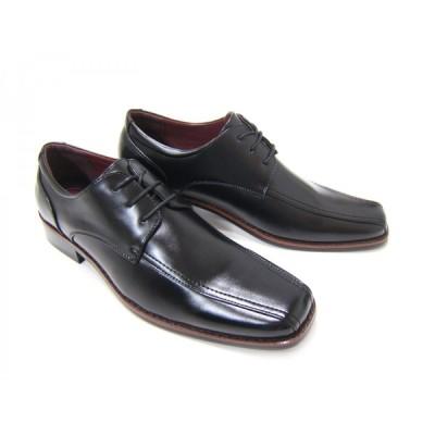 HIROKO KOSHINO/ヒロコ コシノ ビジネス HK-9553 紳士靴 ブラック スワールモカ ロングノーズ 3Eワイズ スクエアトゥ 送料無料