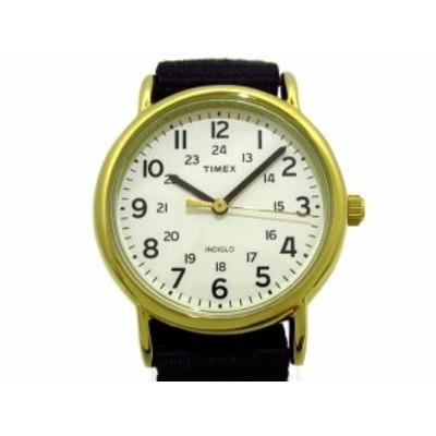 タイメックス TIMEX 腕時計 美品 - レディース 白【還元祭対象】【中古】20200909