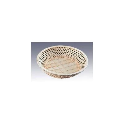 籐カゴ サンド皿 丸型 33-167 φ210×H45【 ディスプレイ用品 】