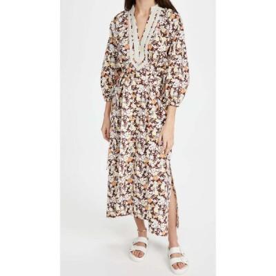 トリー バーチ Tory Burch レディース ワンピース チュニック ワンピース・ドレス Printed Puffed Sleeve Tunic Dress Reverie
