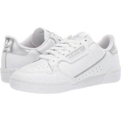 アディダス adidas Originals レディース スニーカー シューズ・靴 Continental 80 Footwear White/Footwear White/Silver Metallic