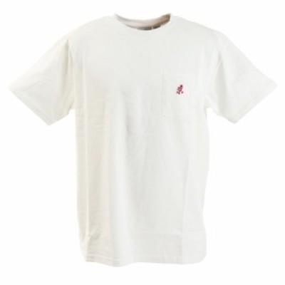 グラミチ(Gramicci)ONE POINT Tシャツ 1948-STS-WHITE(Men's)
