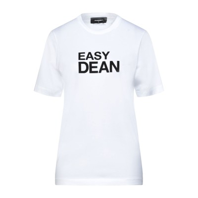 ディースクエアード DSQUARED2 T シャツ ホワイト XXS コットン 100% / ポリウレタン T シャツ