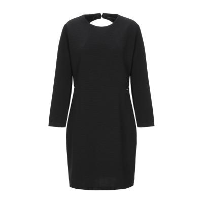 ARMANI EXCHANGE ミニワンピース&ドレス ブラック M ポリエステル 95% / ポリウレタン 5% ミニワンピース&ドレス