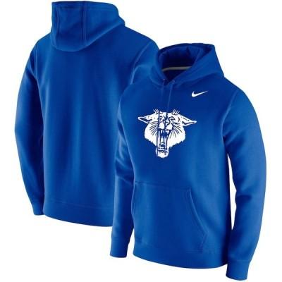 """ナイキ メンズ パーカー """"Kentucky Wildcats"""" Nike Vintage School Logo Pullover Hoodie - Royal"""
