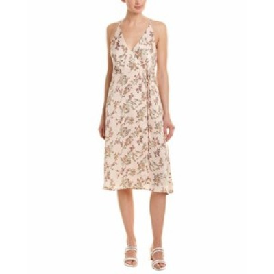 ファッション ドレス Lumiere Floral Wrap Dress S