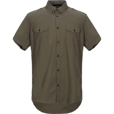 ソリッド !SOLID メンズ シャツ トップス solid color shirt Military green