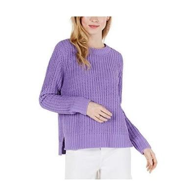 Maison Jules | Matte Chenille Sweater | Meadow Violet | XS並行輸入品 送料無料