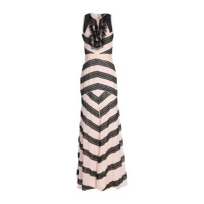 ジャストカヴァリ JUST CAVALLI ロングワンピース&ドレス ローズピンク 38 レーヨン 100% ロングワンピース&ドレス