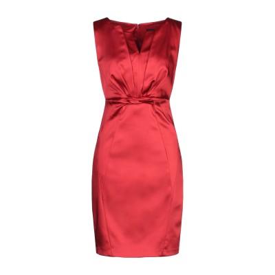 JAX ミニワンピース&ドレス レッド 4 アセテート 68% / ナイロン 29% / ポリウレタン 3% ミニワンピース&ドレス