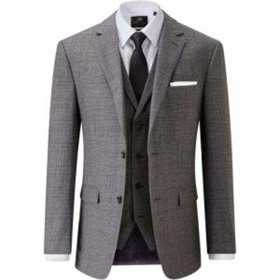 スコープス Skopes メンズ スーツ・ジャケット アウター Robinson Wool Blend Jacket Grey