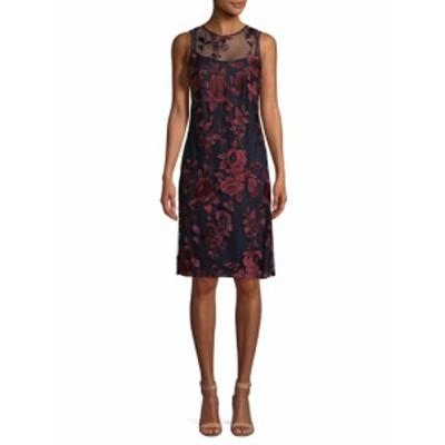 ドナリッコ レディース ワンピース Floral Lace Sheath Dress
