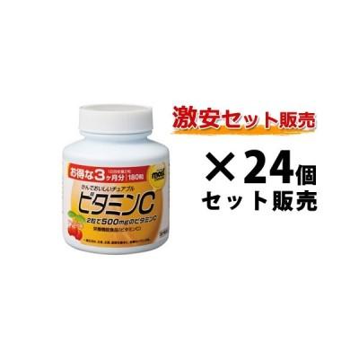 【大口注文】 MOSTチュアブル ビタミンC|180粒入×24個セット|オリヒロ|皮膚や粘膜の健康維持を助ける