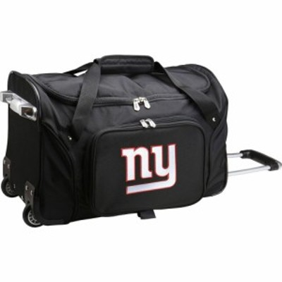 モジョ Mojo Licensing ユニセックス スーツケース・キャリーバッグ バッグ Mojo New York Giants Wheeled Duffle
